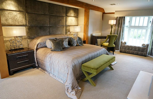 luxury master bedroom decorating near kent