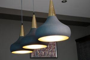 Designer lamp shades by Trindade Bird