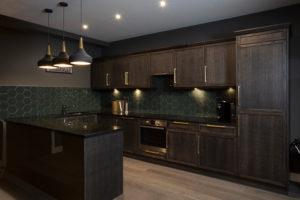 Dockside Penthouse Kitchen Design by Trindade & Bird