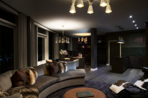 Luxury living room design by Trindade & Bird London