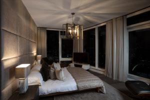 Luxury bedroom design by Trindade & Bird London